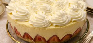 Strawberry Mascarpone Torte Recipe by Helen S. Fletcher